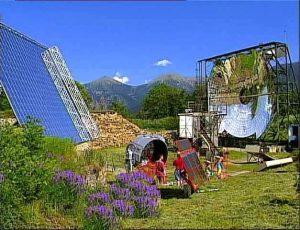 Historique du four solaire